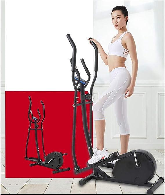 TXDWYF Bicicletas Estáticas y de Spinning para Fitness/Bicicleta EstáTica con Sensores De Pulsómetro/Máquinas de Step para Fitness/Máquinas de Piernas/Pantalla LCD - Máx. 200 kg: Amazon.es: Hogar