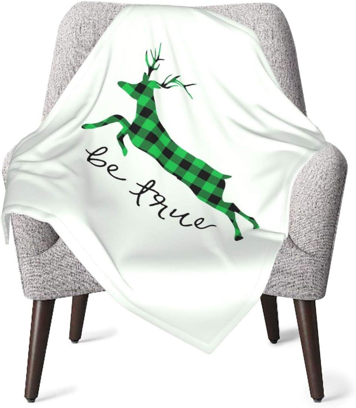 Xiongone verde y negro búfalo a cuadros alces unisex bebé suave felpa manta abrigo abrigo recibir manta para bebé o recién nacido