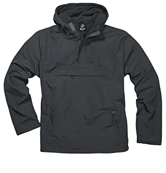 47794721b Brandit Men's Windbreaker Anthracite at Amazon Men's Clothing store: