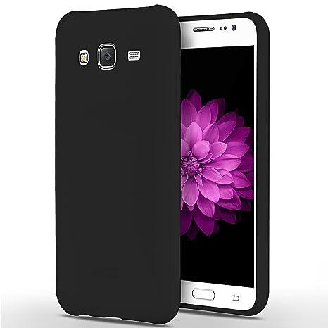 SpiritSun Funda para Samsung Galaxy J5, Soft Carcasa Diseño Mate Ultrafina TPU Bumper Suave Silicona Carcasa Ultra Delgado y Ligero Goma Flexible Anti ...