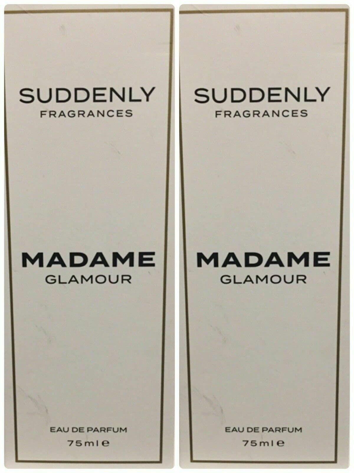 2x SUDDENLY MADAME GLAMOUR Eau de Parfume 50ml by Suddenly Madame Glamour