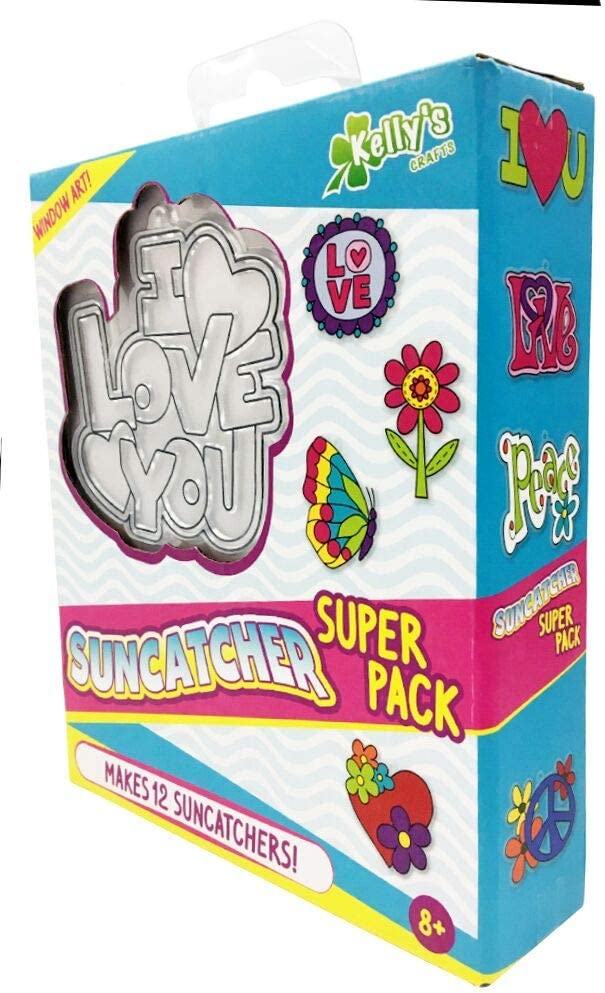 Peace and Love Suncatcher Super Pack Makes 12 !!