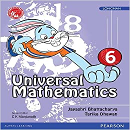 Universal Mathematics Book by Pearson for CBSE Class 6: Amazon in
