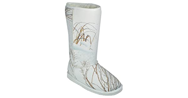 cbf46d8190abf DAWGS Mossy Oak Women's 13 Inch Australian Style Boot,Winter Brush,10 M US