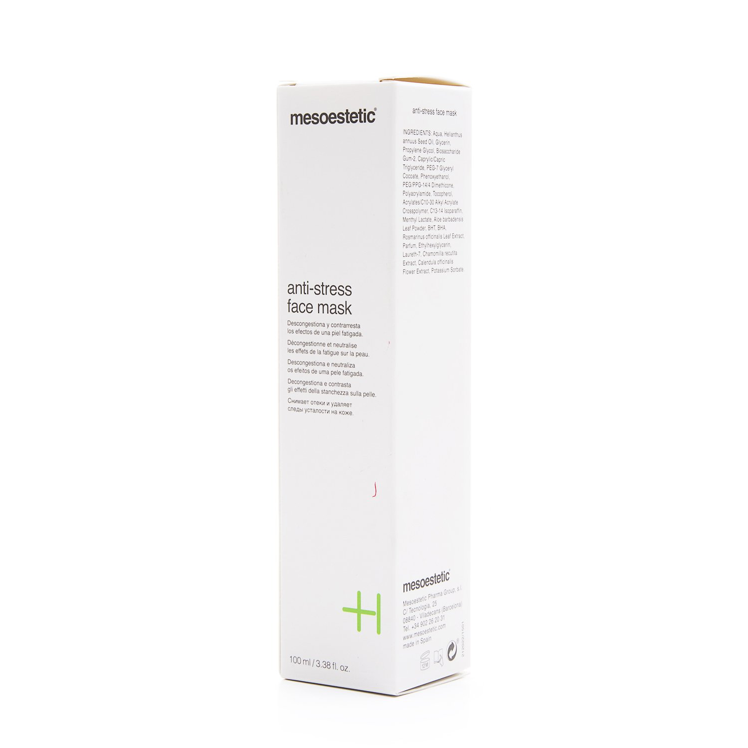 Mesoestetic Cosmelan Anti-Stress Face Mask 3.38 fl oz.