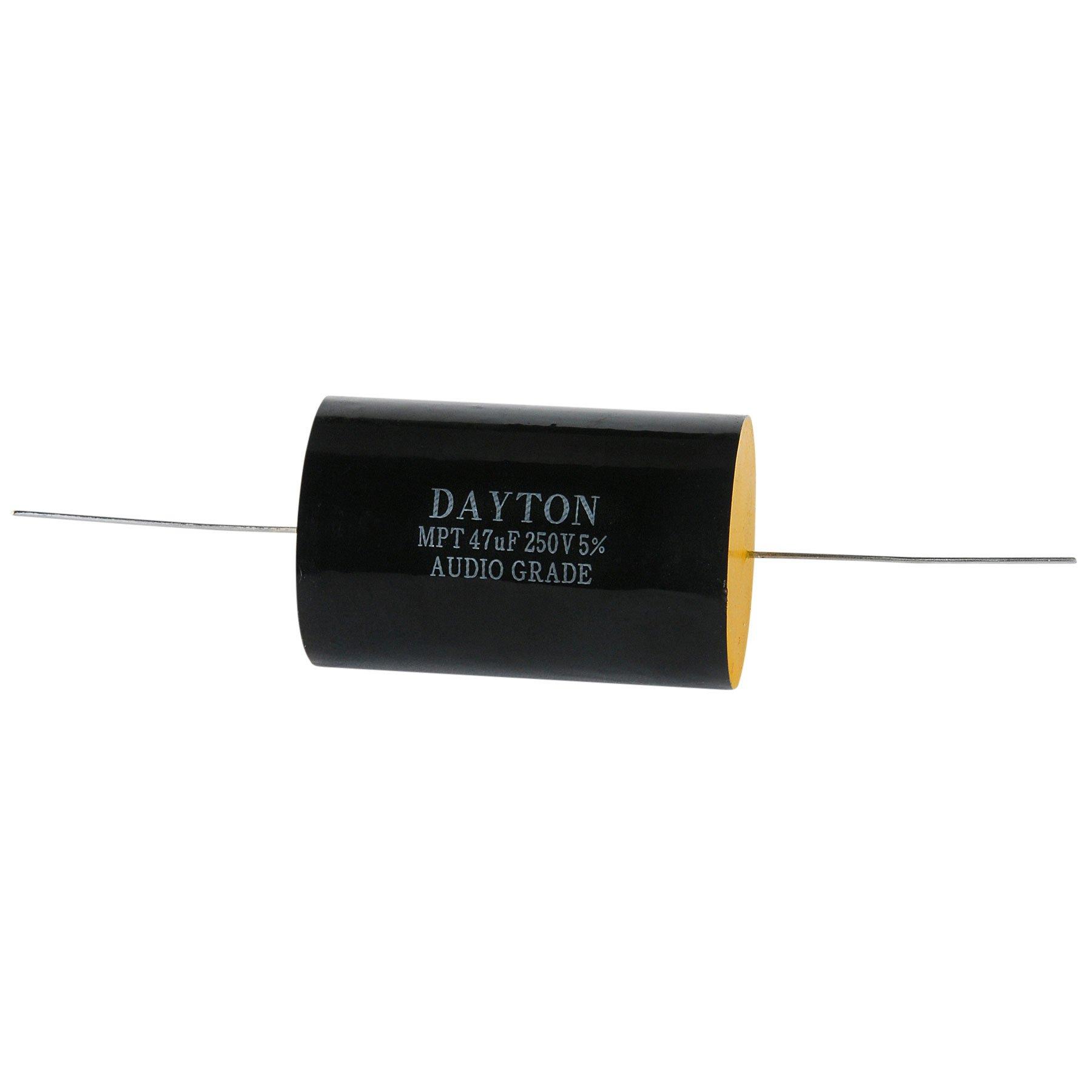 Dayton Audio DMPC-47 47uF 250V Polypropylene Capacitor by Dayton Audio (Image #1)