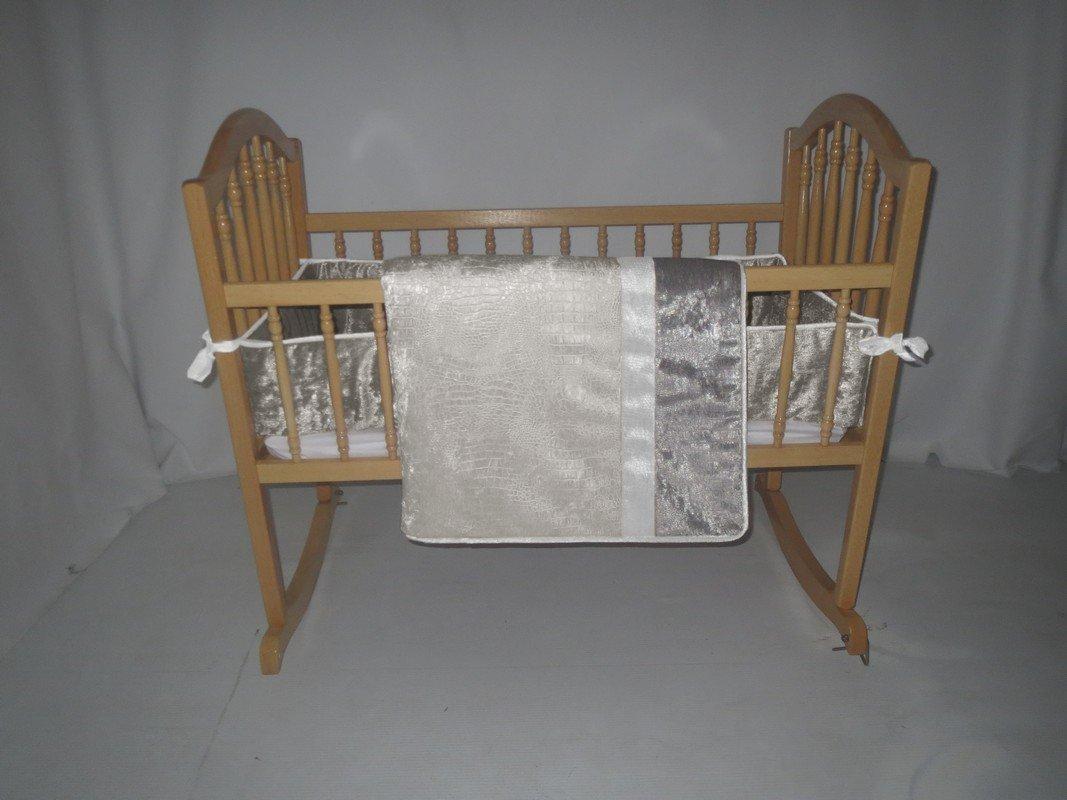 ベビードール寝具クロコダイルクレードル寝具セット、シャルドネ   B00GLS5S3Y