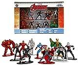 avengers loki figure - Marvel Avengers Diecast Nano Metal Figures 10 Pack by Jada 1.5
