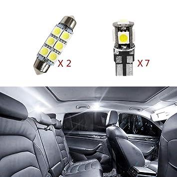 Cobear para Passat 2015-2017 B8 Super Brillante Fuente de luz LED Interior Lámpara de