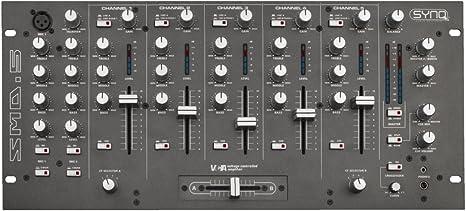 SMD-5 MESA MEZCLADORA PRO DJ SYNQ: Amazon.es: Instrumentos musicales