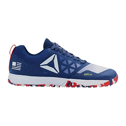 Reebok Womens Crossfit Nano 6.0 Blue Ink-White-Riot Red-Navy Athletic Shoes ac67315c4