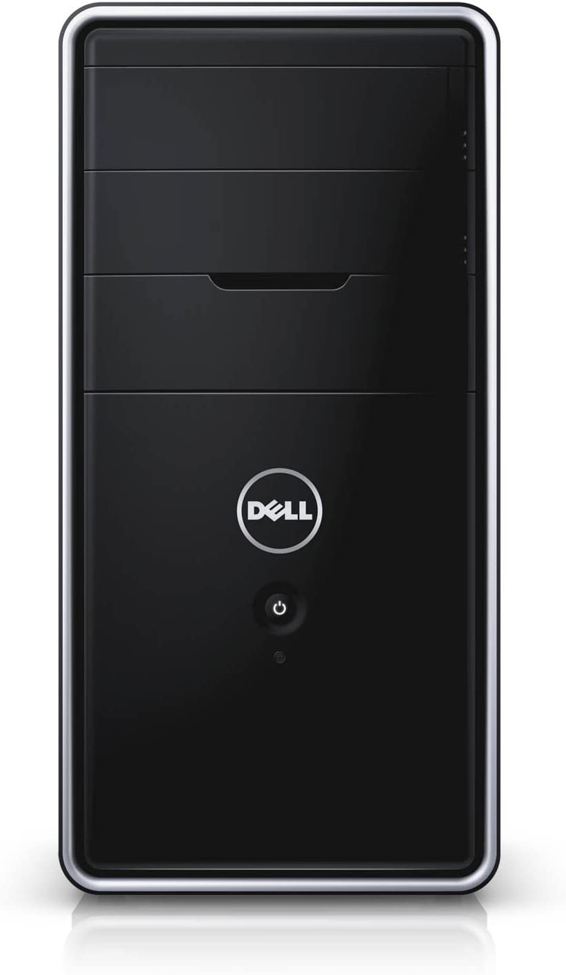 Dell Inspiron 3847 Tower Desktop PC, Intel Core i3-4130 3.4GHz, 8G DDR3, 500G, VGA, HDMI,Windows 10 Pro 64 Bit-Multi-Language Supports English/Spanish/French(Renewed)