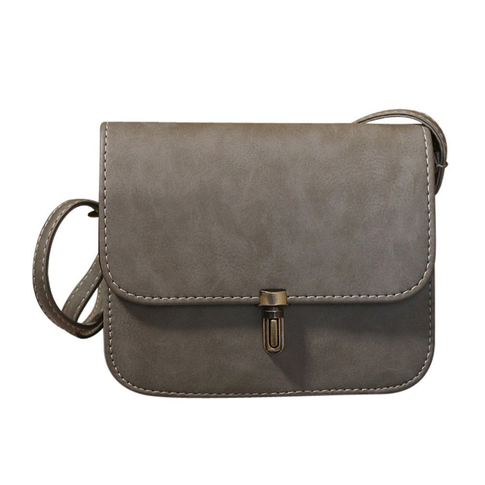 Wobuoke_Shoulder Bag レディース B07G4CBCYK グレー