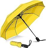 Repel Windproof Travel Umbrella with Teflon Coating (Yellow) - Golf Umbrella