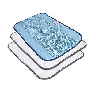 iRobot Braava Microfiber 3-Pack, Mixed Cloths Accessories, Blue