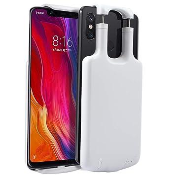 KJcase Funda Batería Compatible con Xiaomi Mi 8, 5000mAh ...