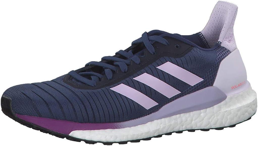 adidas Solar Glide 19 W, Zapatillas para Correr para Mujer, Tech Indigo/FTWR White/Purple Tint, 36 EU: Amazon.es: Zapatos y complementos