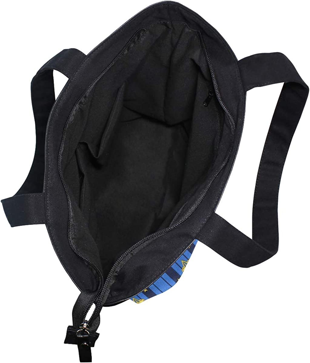 Women Large Tote Top Handle Shoulder Bags Robert Kaufman Registered Boy Scout 1 Satchel Handbag