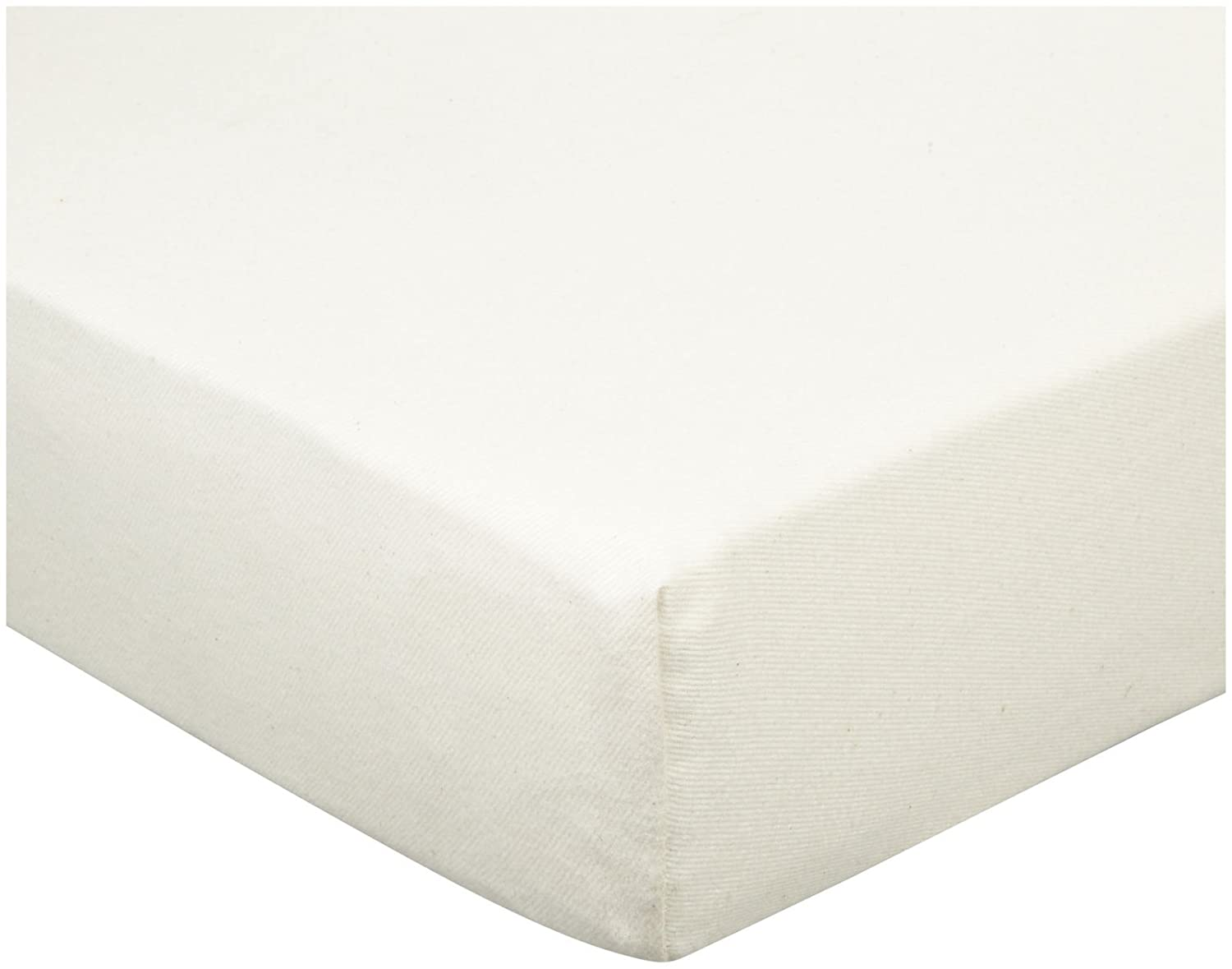 Naturepedic Organic Cotton Flannel Crib Fitted Sheet