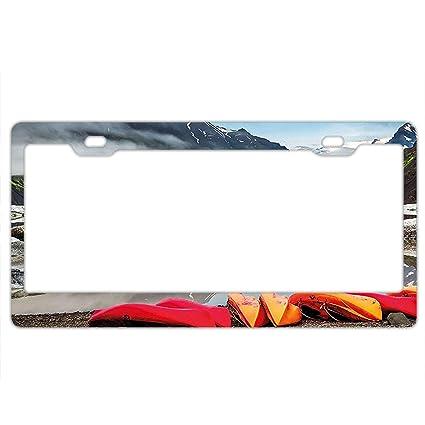 Amazon.com: Pulongpoq Automobile Plate Covers - Iceland Cold ...
