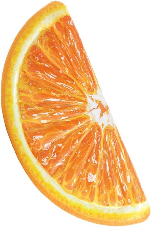 Fruta Naranja Hinchable Colchonetas Isla Flotante De Piscina Válvulas Rápidas Fiesta De La Piscina Al Aire Libre para Niños Adultos