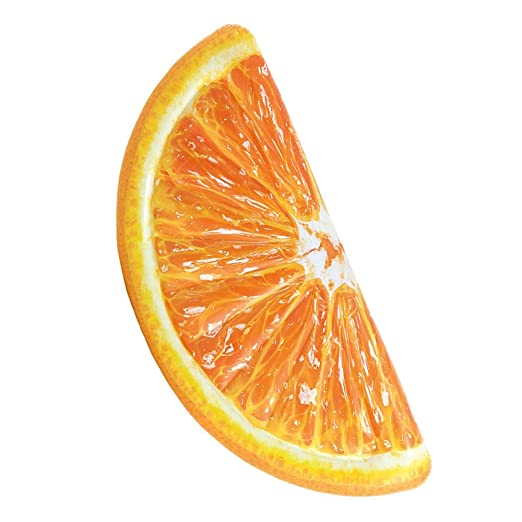 Fruta Naranja Hinchable Colchonetas Isla Flotante De Piscina ...