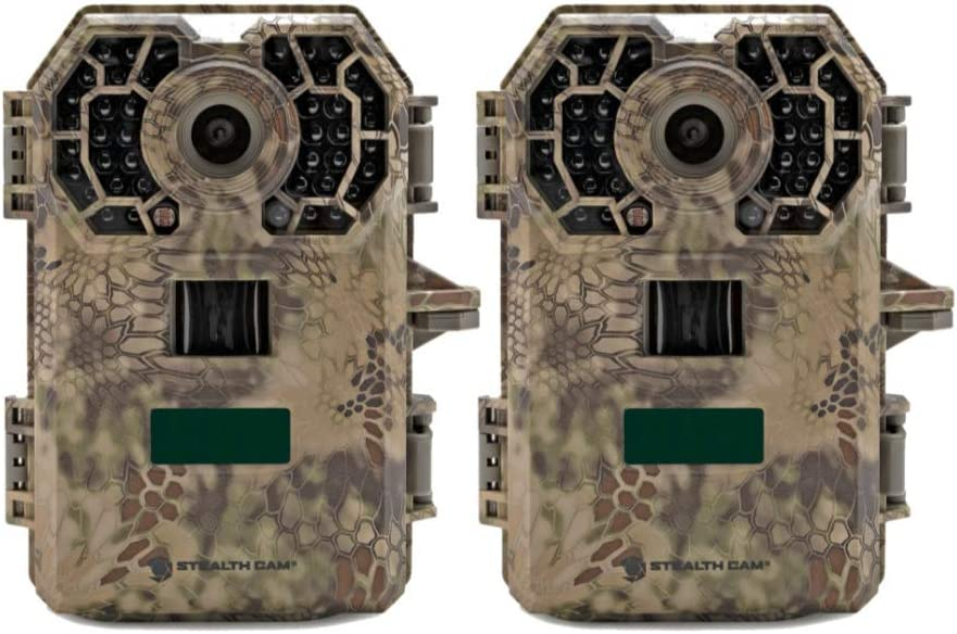 Stealth Cam G42NG No-Glo Trail Game Camera 2- Pack Bundle , Records HD Video