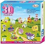 Annie 12 - in - 1 3D Puzzle, Multi Color