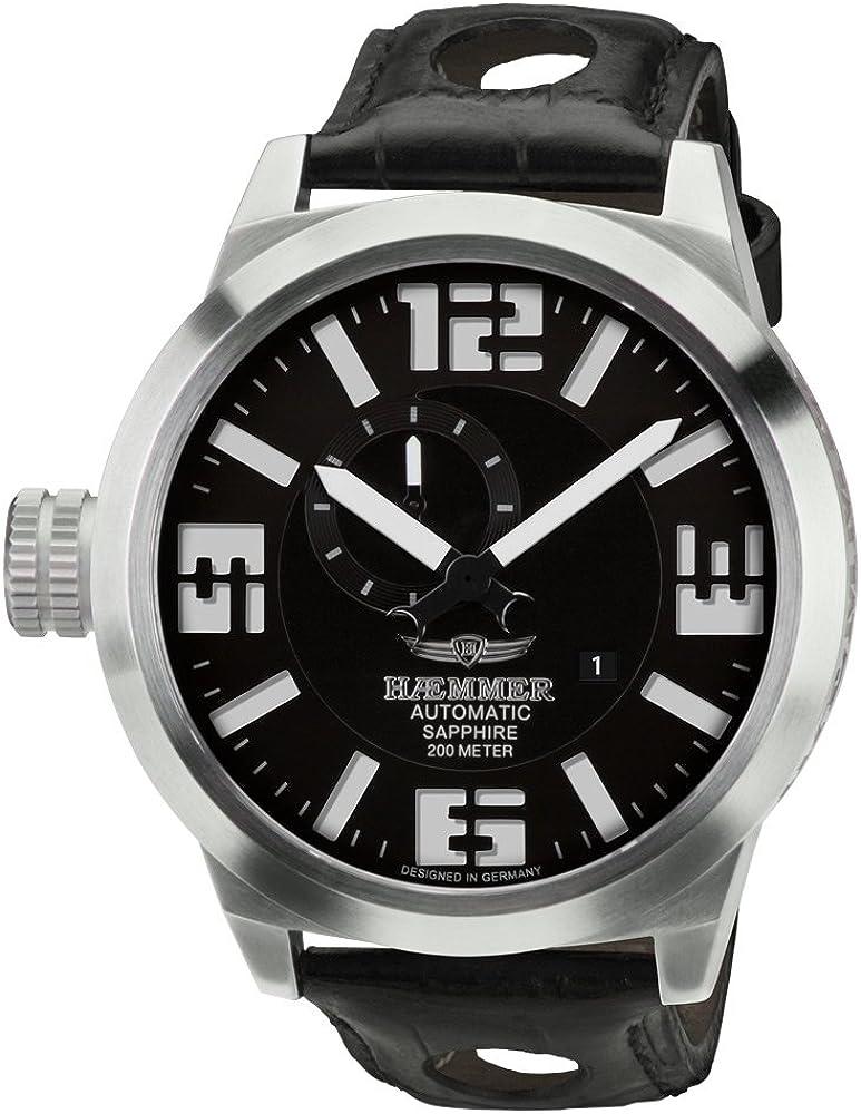 Reloj - Haemmer - para Hombre - HM-01: Amazon.es: Relojes