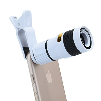 Amazon com: 8X Zoom Optical Telescope Camera Lens for Phones