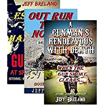 Stone: Bounty Hunter Package # 2: Gunman's Rendezvous with Death, Out Run the Noose, Escape the Hangman: Book # 4,5,6: Western Action and Adventures of ... and Gunfighter Jake Stone (English Edition)