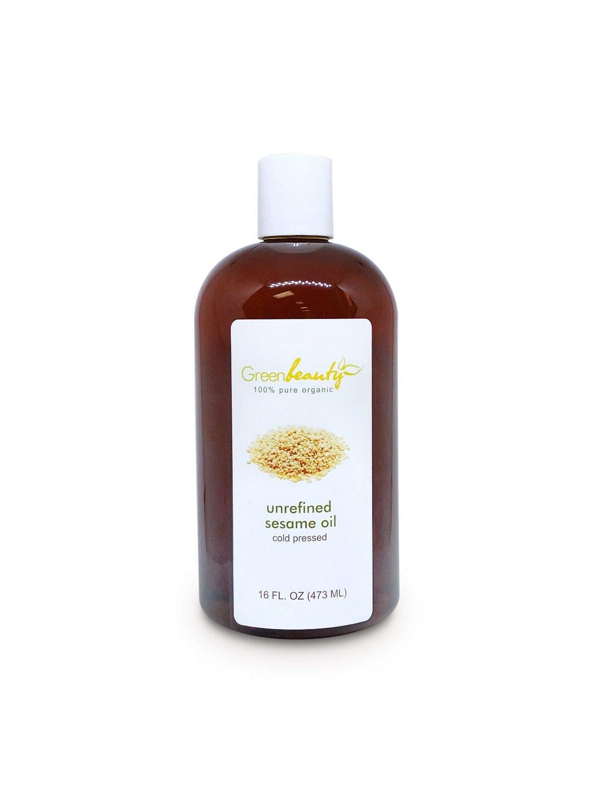 SESAME OIL UNREFINED VIRGIN ORGANIC CARRIER RAW COLD PRESSED 4 OZ TO 1 GALLON by Soapeauty