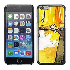 Apple (5.5 inches!!!) iPhone 6+ Plus / 6S+ Plus - Metal de aluminio y de plástico duro Caja del teléfono - Negro - Tiger T1Gger Adventure