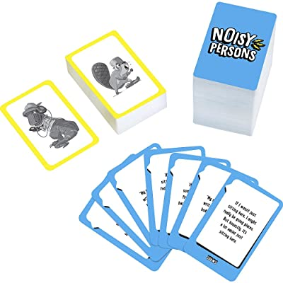 Mattel The Toy Box Noisy Persons Card Game: Toys & Games