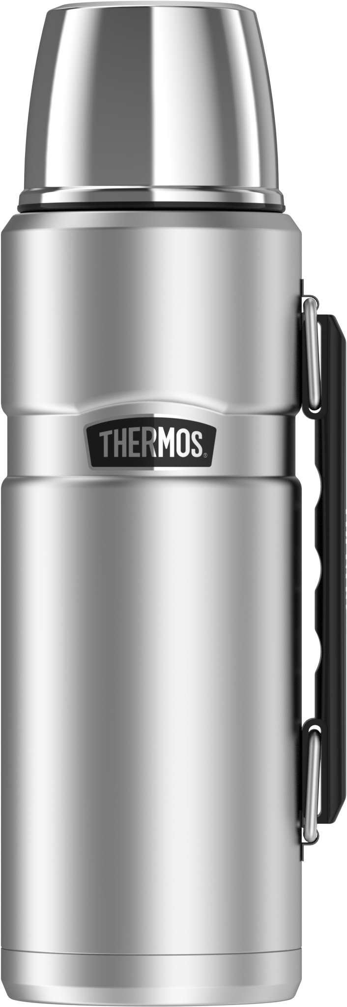 Thermos Stainless King 40 Ounce Beverage Bottle, Stainless Steel by Thermos (Image #1)