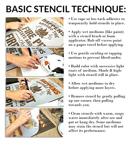Jual Together Is A Beautiful Place Stencil By Studior12 Romantic