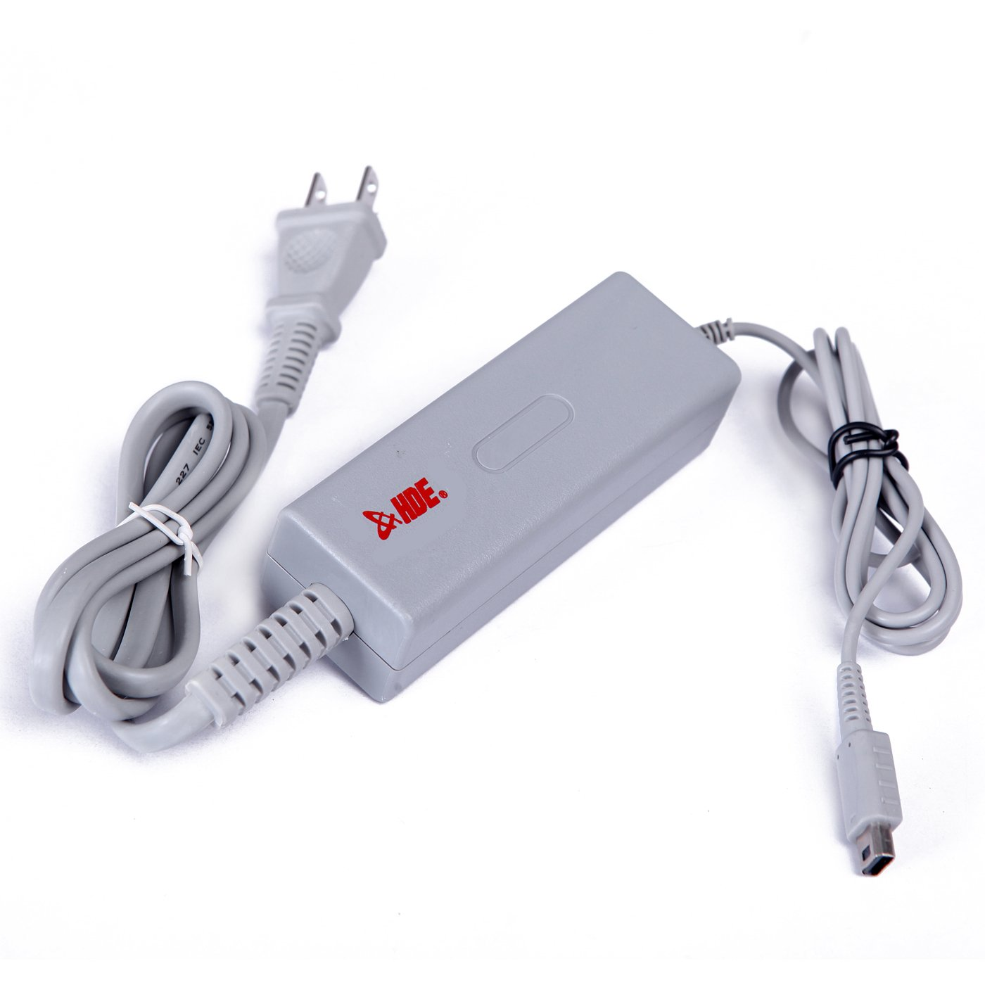 HDE Power Cord for Wii-U Controller Power Supply Brick AC Adapter Charge Cable for Nintendo Wii U Gamepad