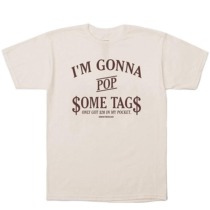 Macklemore & Ryan Lewis Pop Some Tags Thrift Shop T-Shirt + Hip-Hop Stickers