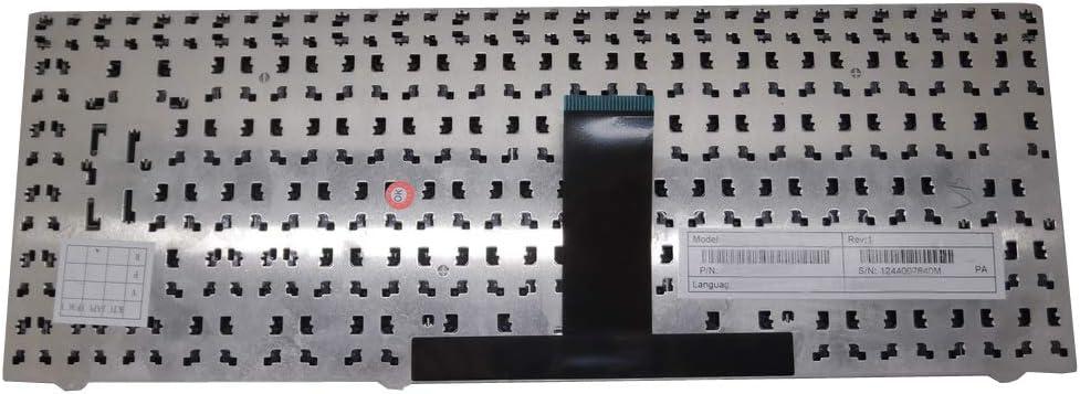Laptop Keyboard for CLEVO W240BL W240BU W240BZ W240BZQ W240CU W240CUQ W240CZ W240CZQ W240ELQ W240EU W240EUQ W240HU W240HUX W241BLQ W241BU W241BUQ W241BZQ W241CU W241CUQ United Kingdom UK Black