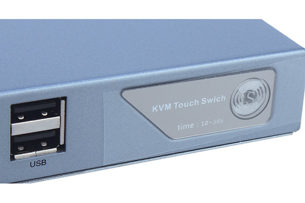 DTECH 2 Port VGA Switch with USB 2.0 and PS2 KVM Switcher (Control 2 PCs with just one Keyboard, Mouse, Monitor ) Supports Widescreen Display and up to 2048x1536 Resolution by DTech (Image #5)