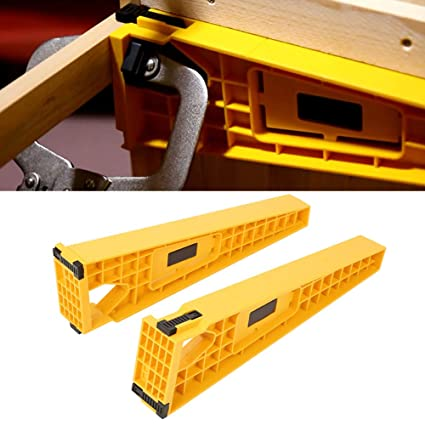2pcs Drawer Slide Jig For Cabinet Draw Making Draw Slides Mounting Bracket Box Cabinet Hardware Install Guide Woodworking Carpentry Tool