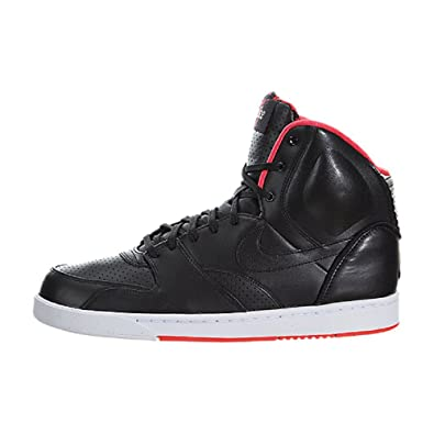 b9633306204e4e Image Unavailable. Image not available for. Color  NIKE Mens Rt1 High Black  Black- University Red ...