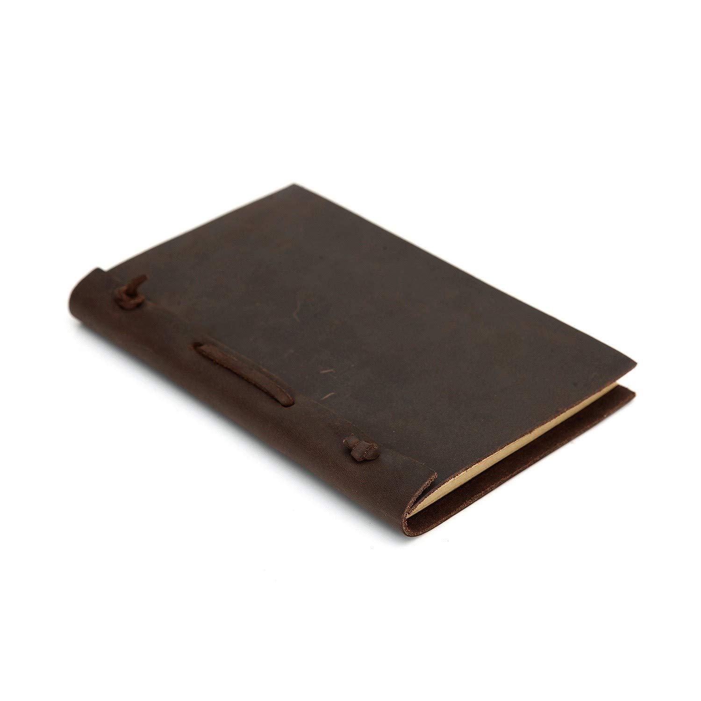 YWHY Cuaderno A5A6 A5A6 A5A6 Cuaderno De Cuero Diario De Viaje Libro De Viaje De Negocios Folleto, A5 6e539a
