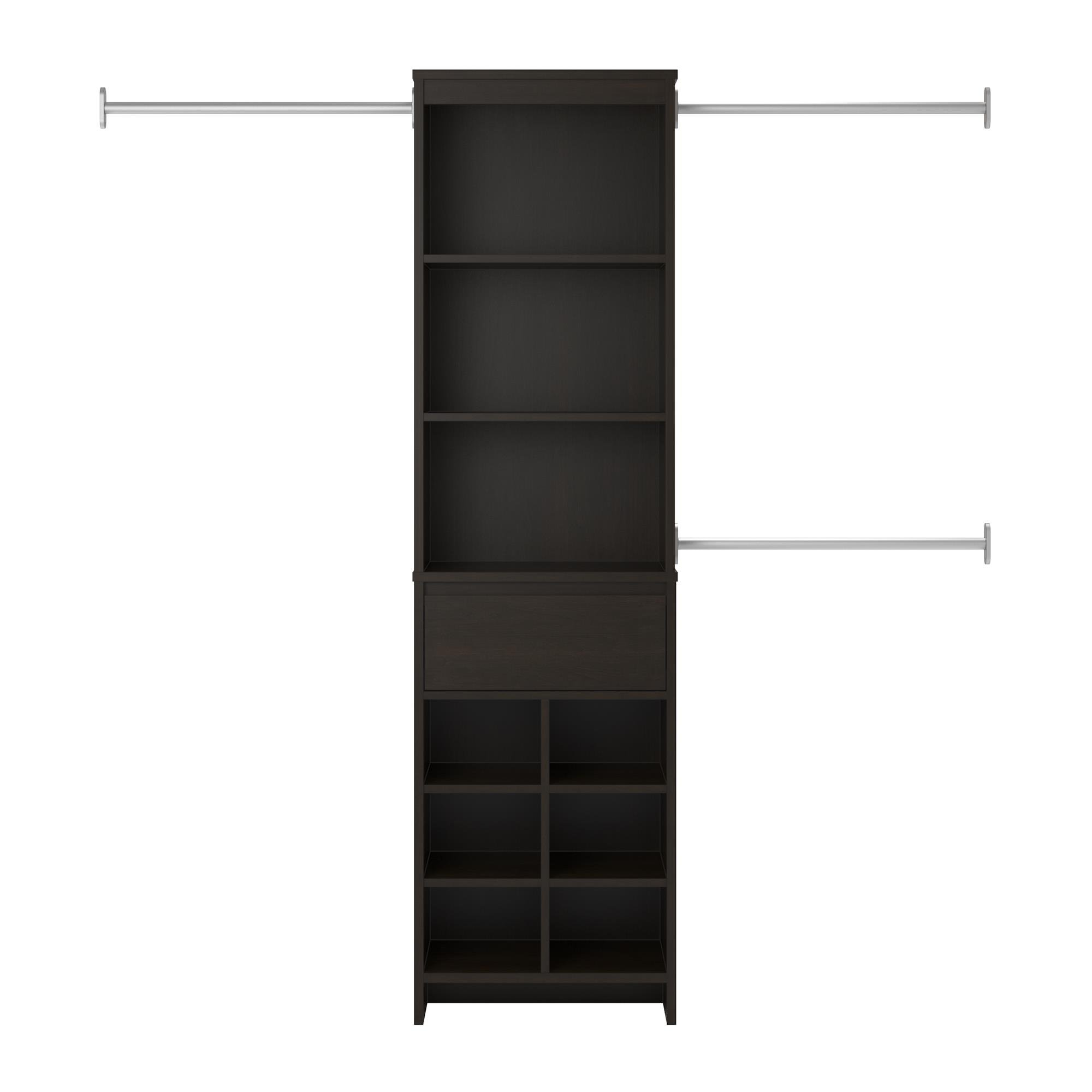 Ameriwood Home Adult Closet System, Espresso by Ameriwood Home (Image #5)