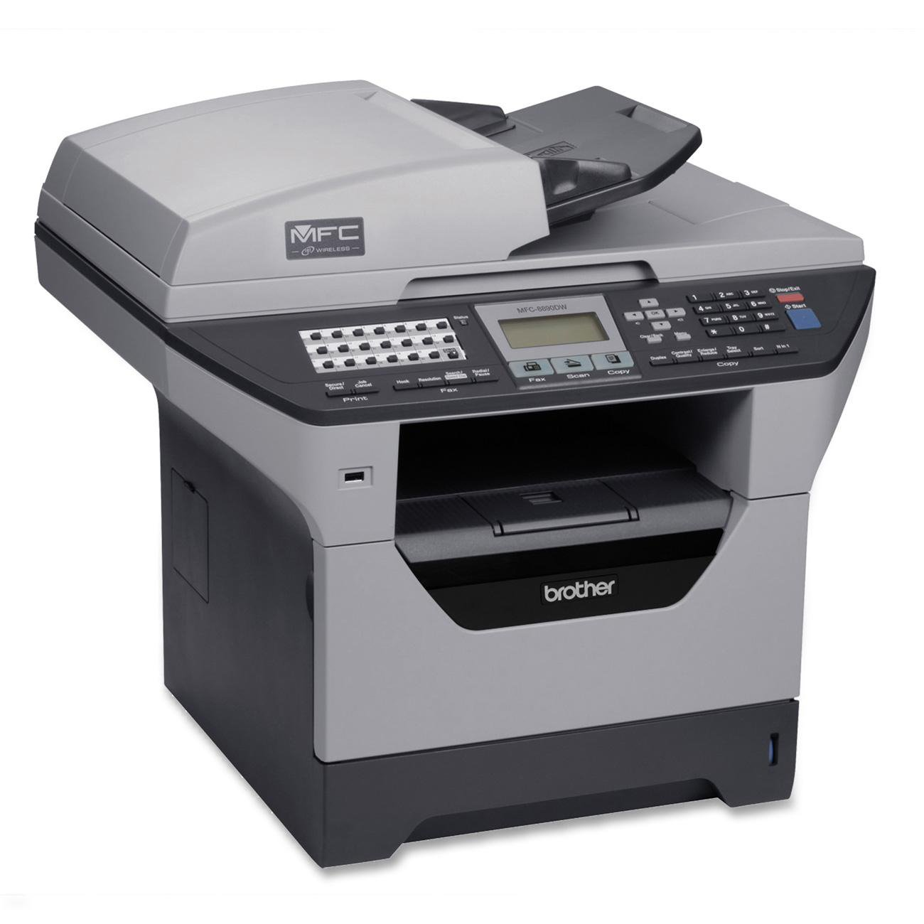 Brother MFC-8890DW Multifuncional Laser 30 ppm 1200 x 1200 ...