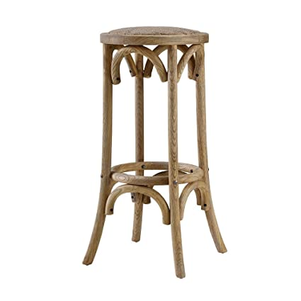Astounding Amazon Com Barstools Bar Stool Rattan Seat Backless Four Dailytribune Chair Design For Home Dailytribuneorg