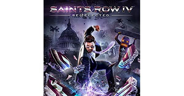 Saints Row 4 Back Cover
