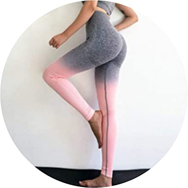 63a4b07729710 Amazon.com: Get-in Women Yoga Pants Push Up Hip Leggings Fitness High Waist  Gymshark Energy Seamless Tights Training Sportswear: Clothing