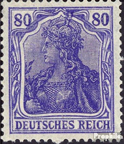 Prophila Collection Deutsches Reich 149II b geprüft 1920 Germania (Briefmarken für Sammler)
