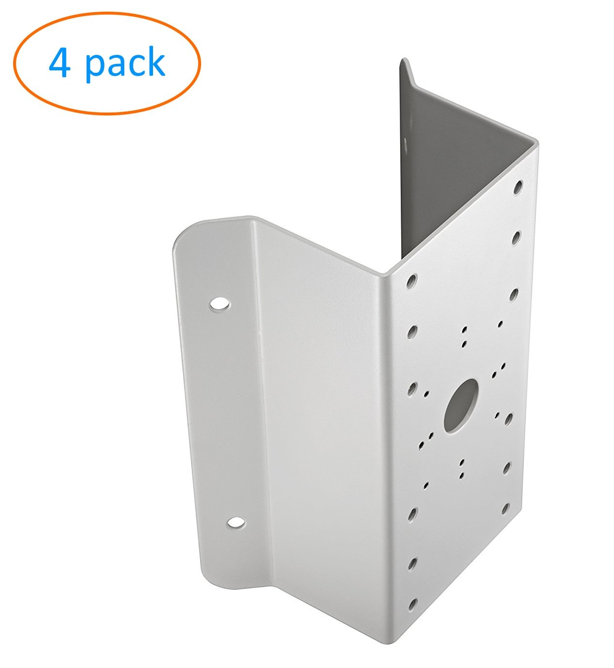 cm DS-1276ZJ Universal Corner Bracket for Most Hikvision Wall Mounts and Cameras - 4 Pack by KENUCO (Image #1)
